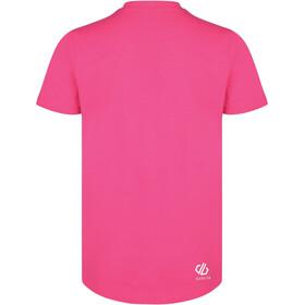 Dare 2b Frenzy Camiseta Niñas, cyber pink